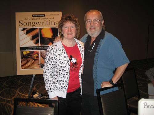With John Braheny