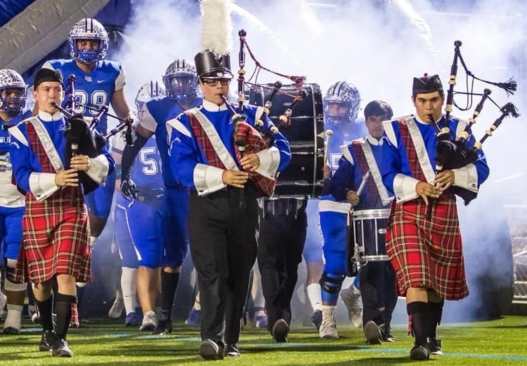 The 2019 LHHS Bagpipes