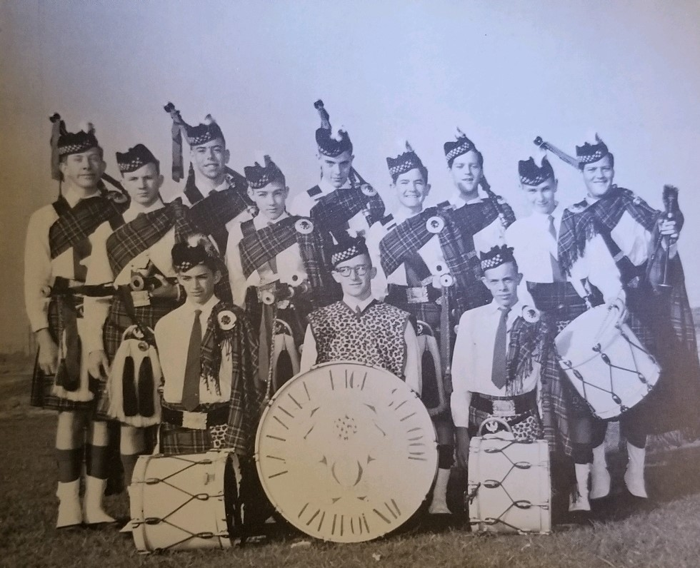 The 1959 LHHS bagpipes