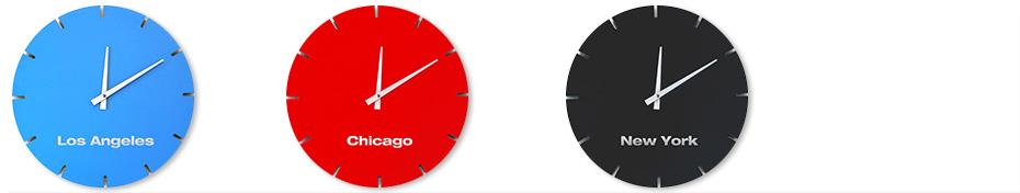 BOLLA Clock USA Set