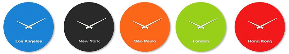 BOLLA Clock Global Set