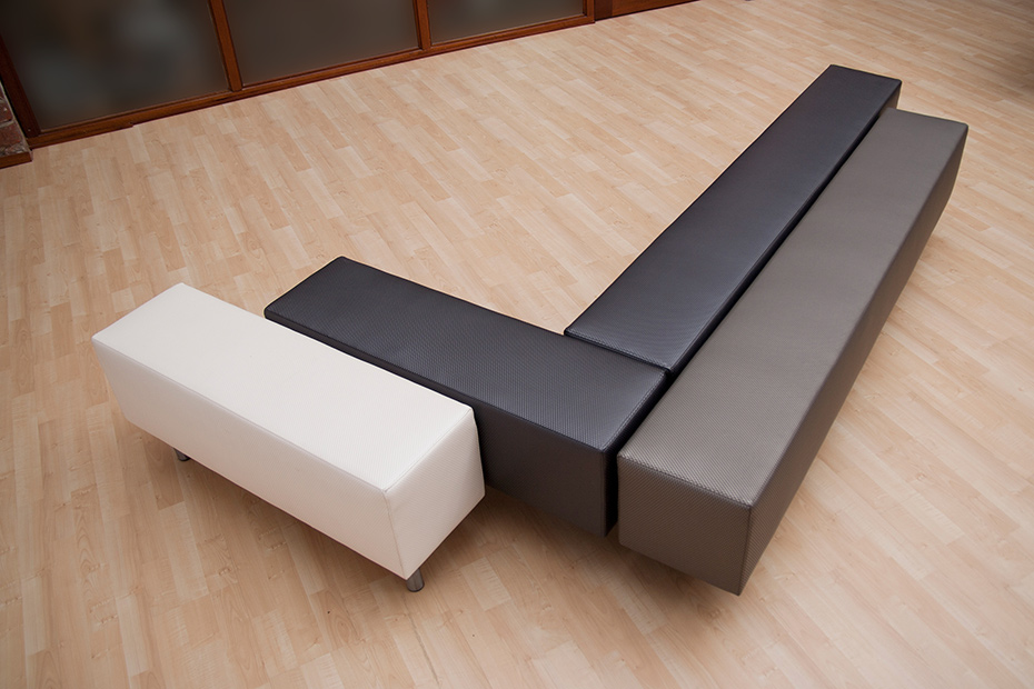 2 FINGERBENCH and FINGER OTTOMAN