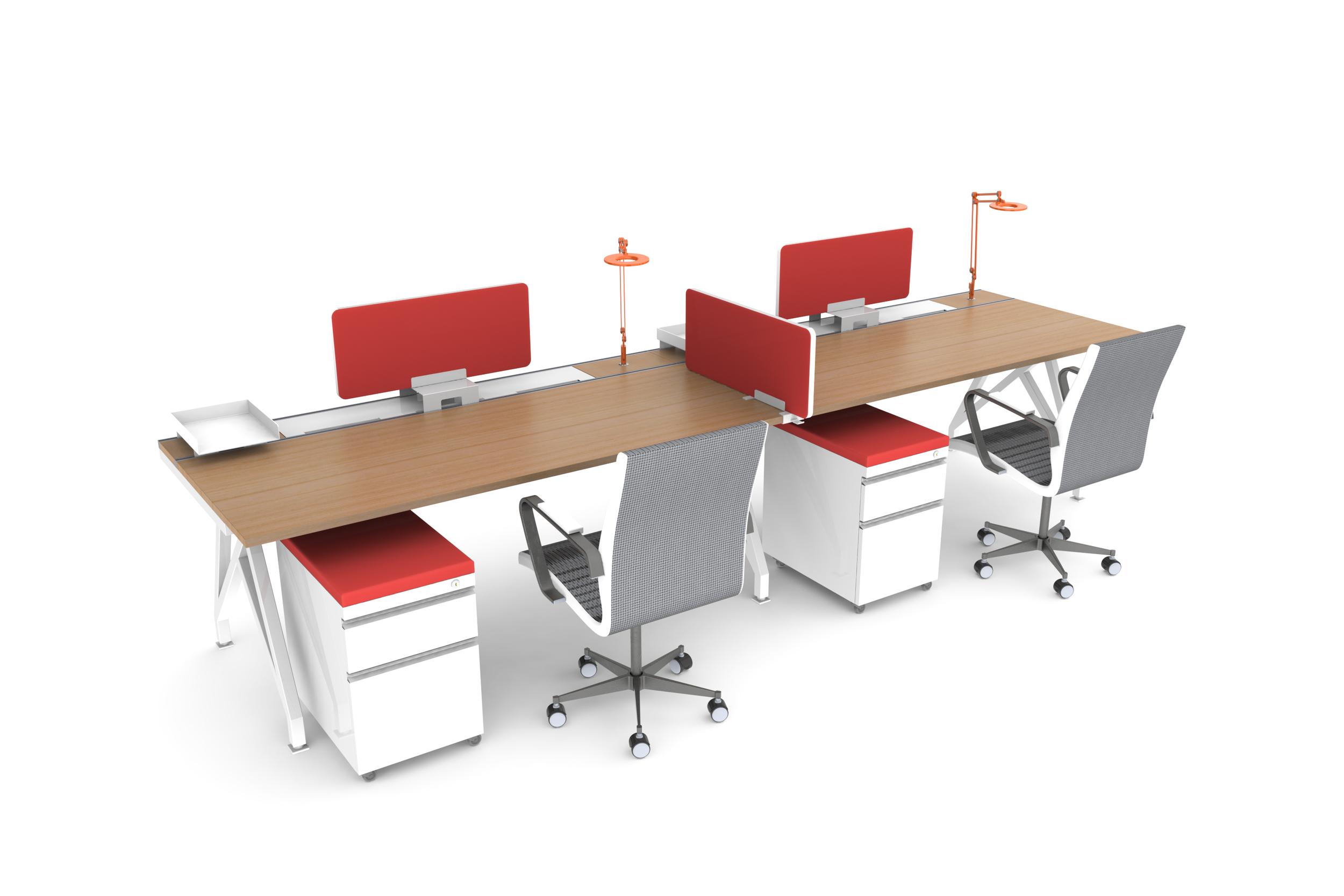 EYHOV Double Workstation Desk