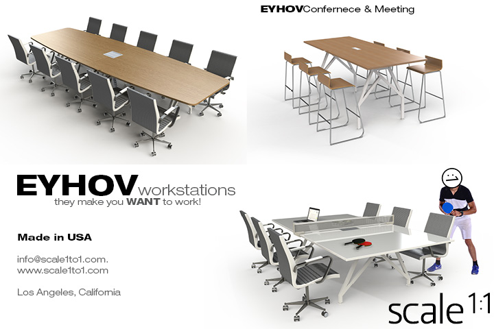 Scale1to1 office desk Postcard 2