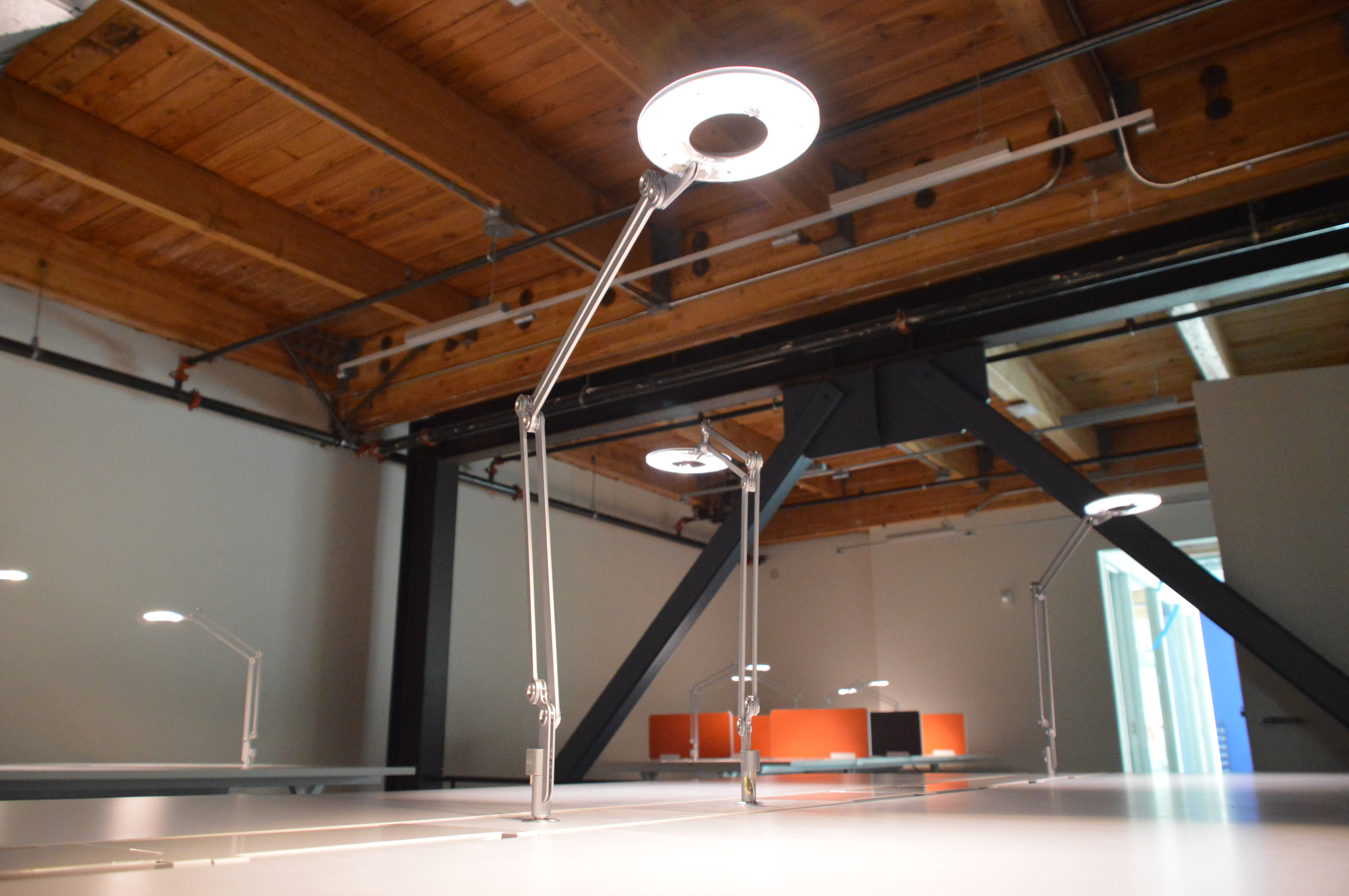 Galvanize San Francisco Installation lamp designed by scale 1-1