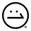 Scale 1:1 Logo Smirk Face