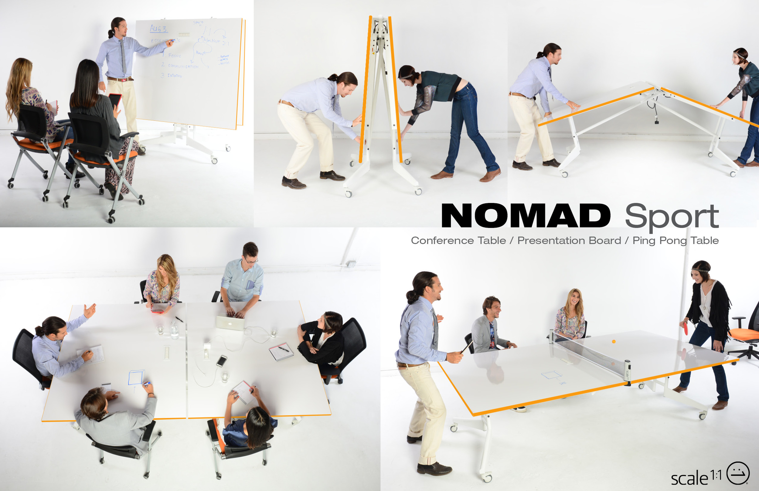 Click on image to VOTE for the NOMAD Sport Conference table. The most versatile Conference table ever!