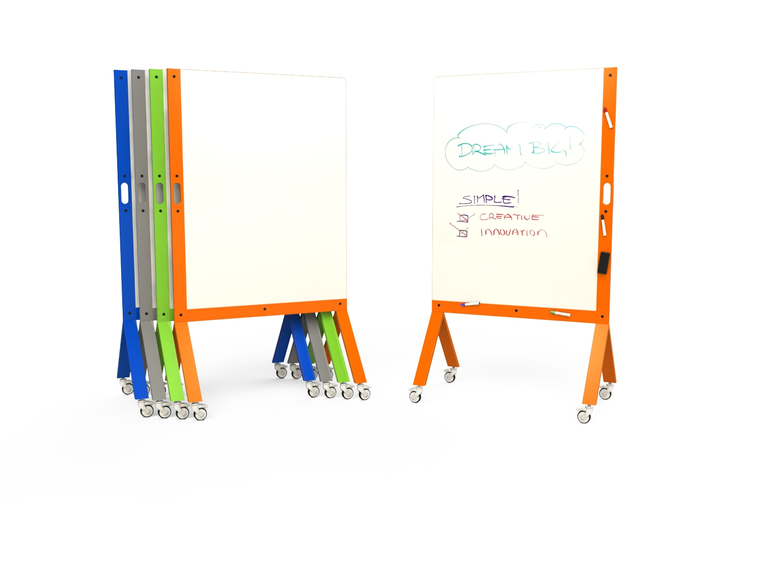 MARC: Mobile Dry Erase Marker Board   MARC