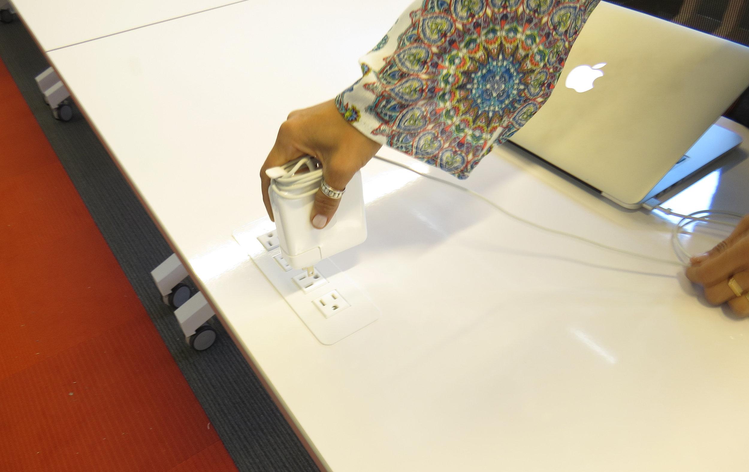 using surface mounted electrical kit