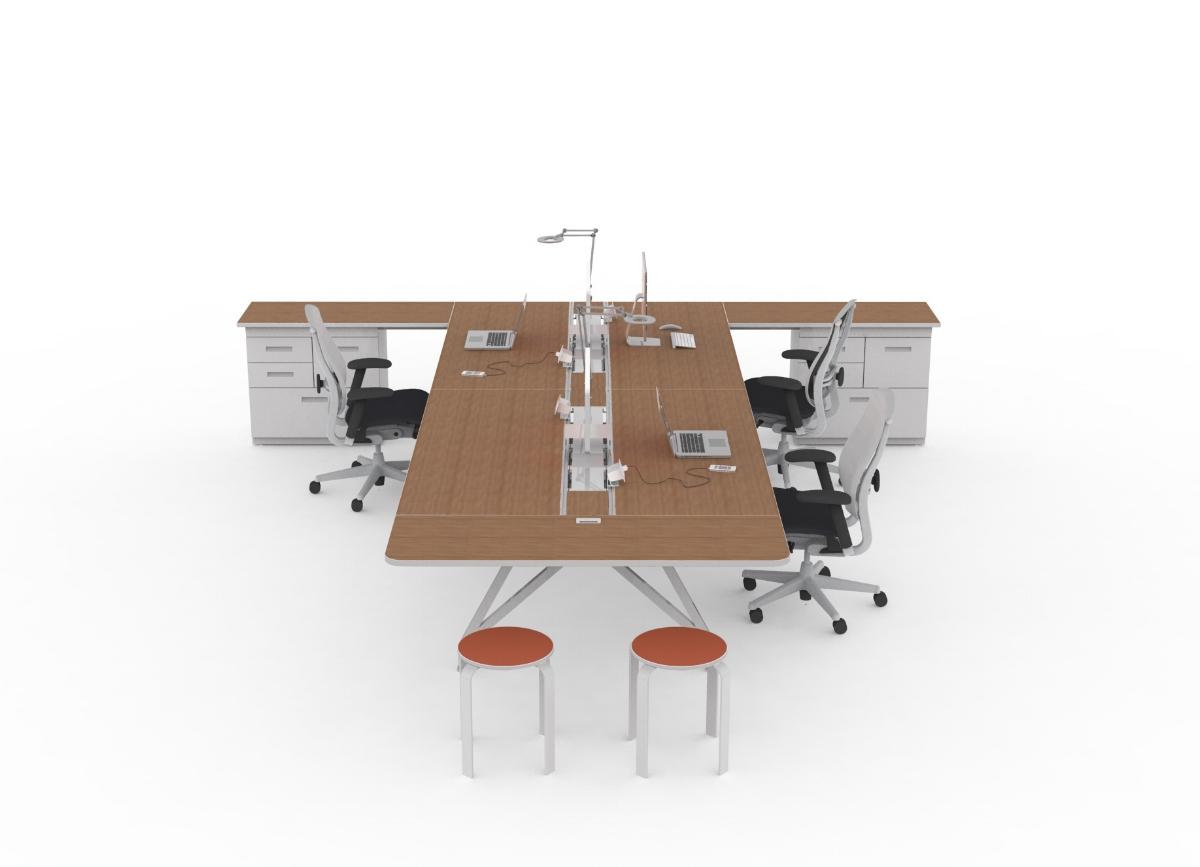 EYHOV Hub Case Study Desk Workstations
