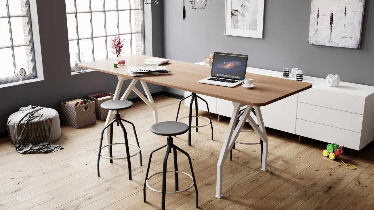 Wood Hot Spot Conference Table