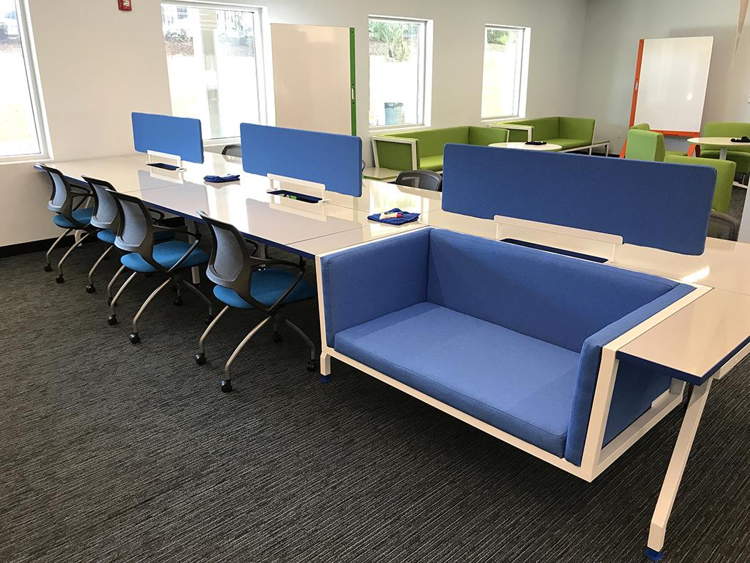 G series nester built in desk lounge