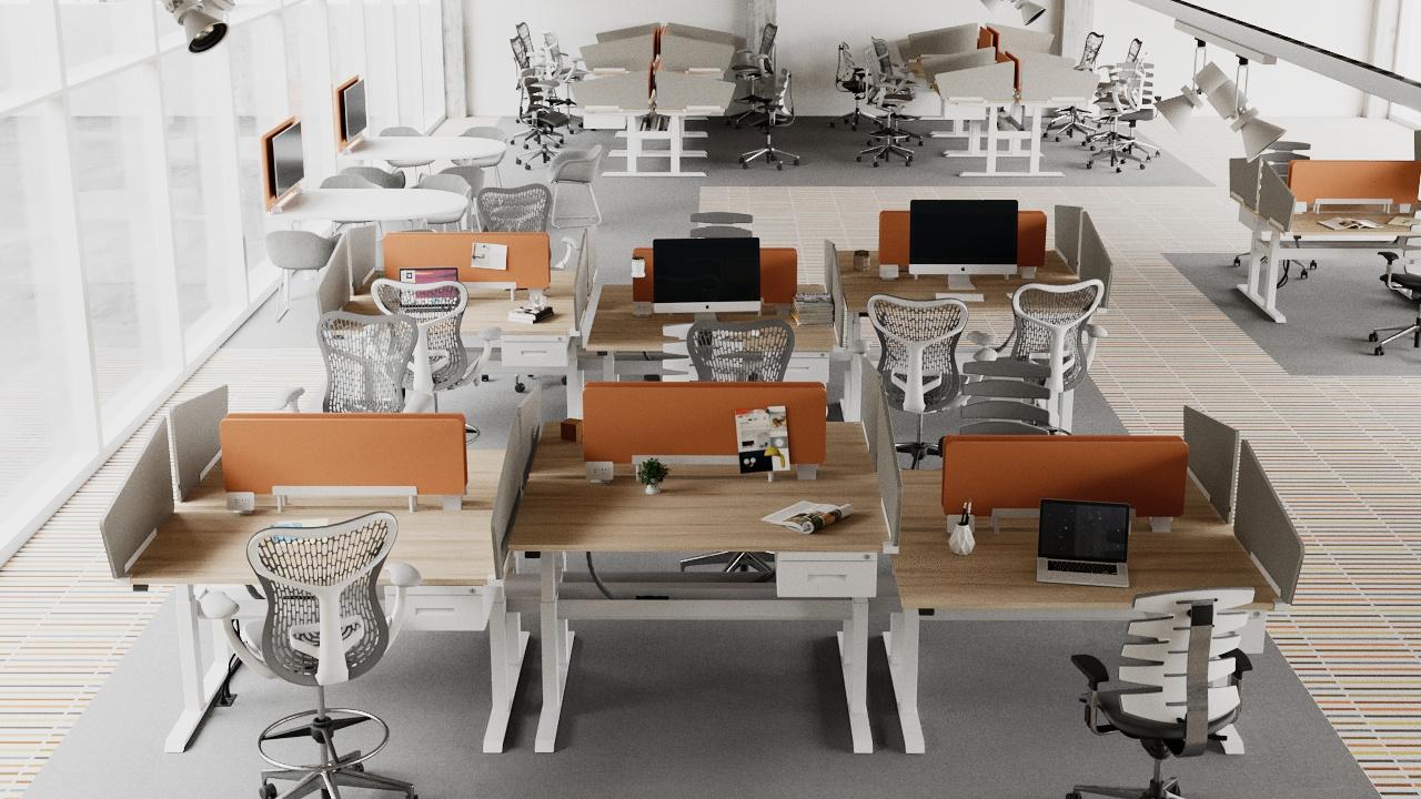 wiiRise Height Adjustable Desks
