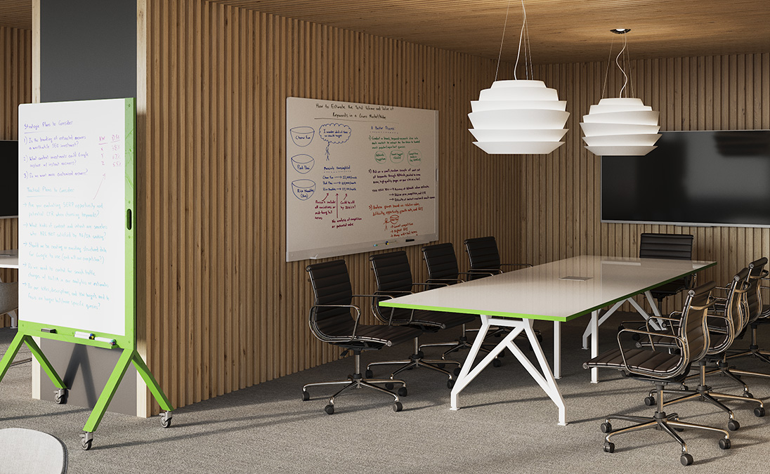 Think Tank Conference Table White
