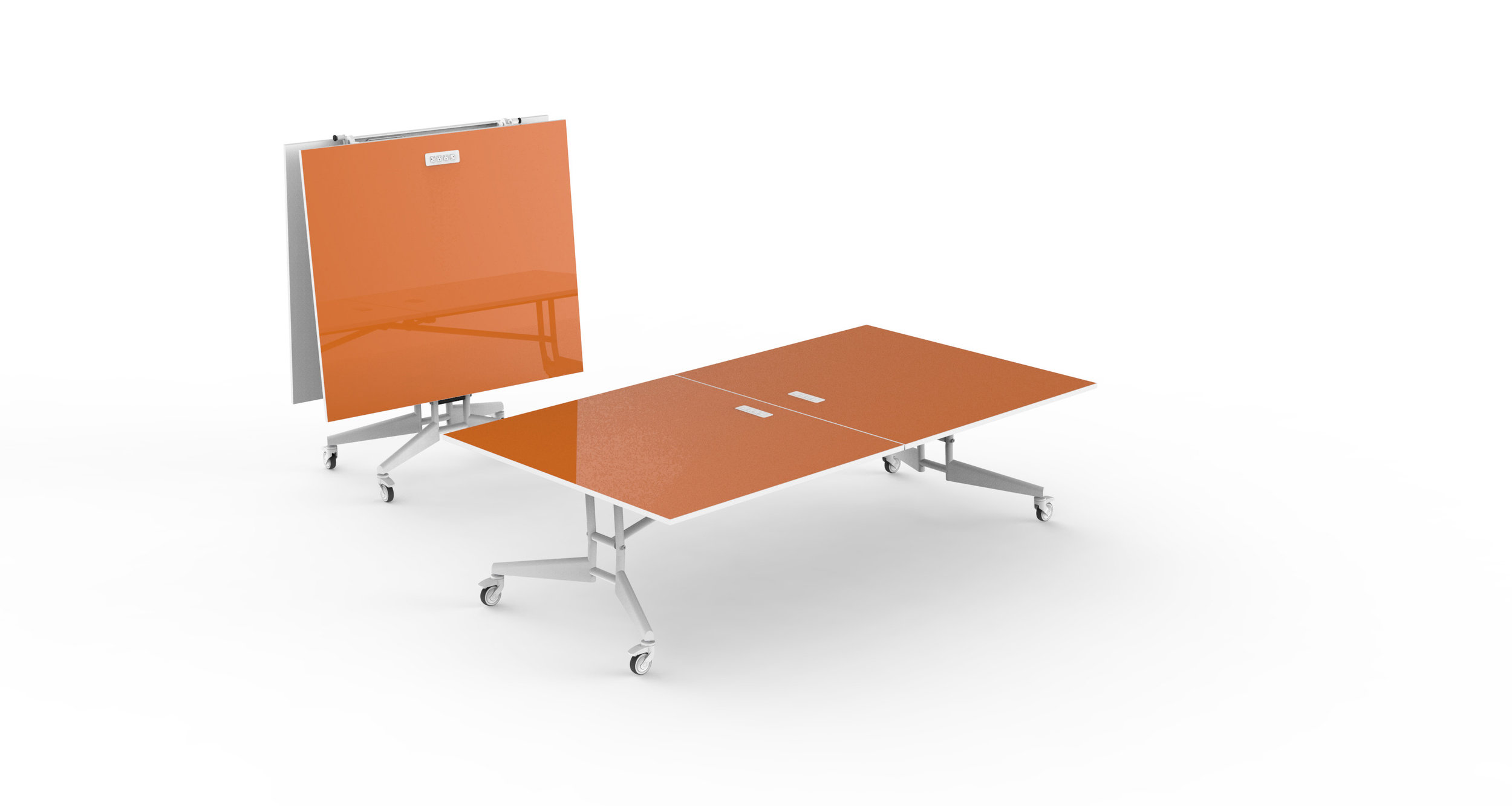 NOMAD Sport Folding Conference Mobile Ping Pong Table