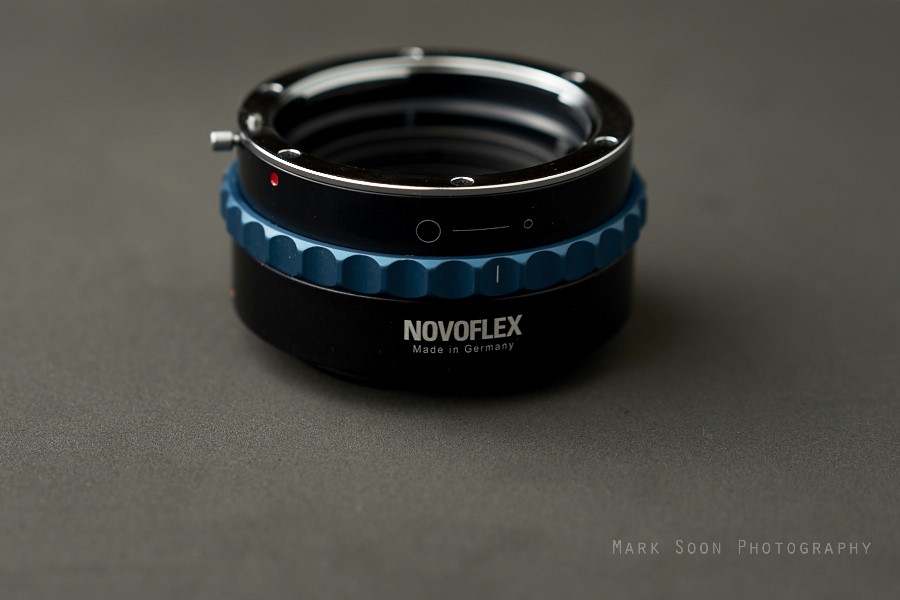 Novoflex Nikon F/G to Sony NEX Adapter