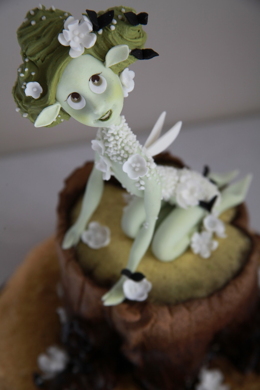 Детский торт на заказ с феей