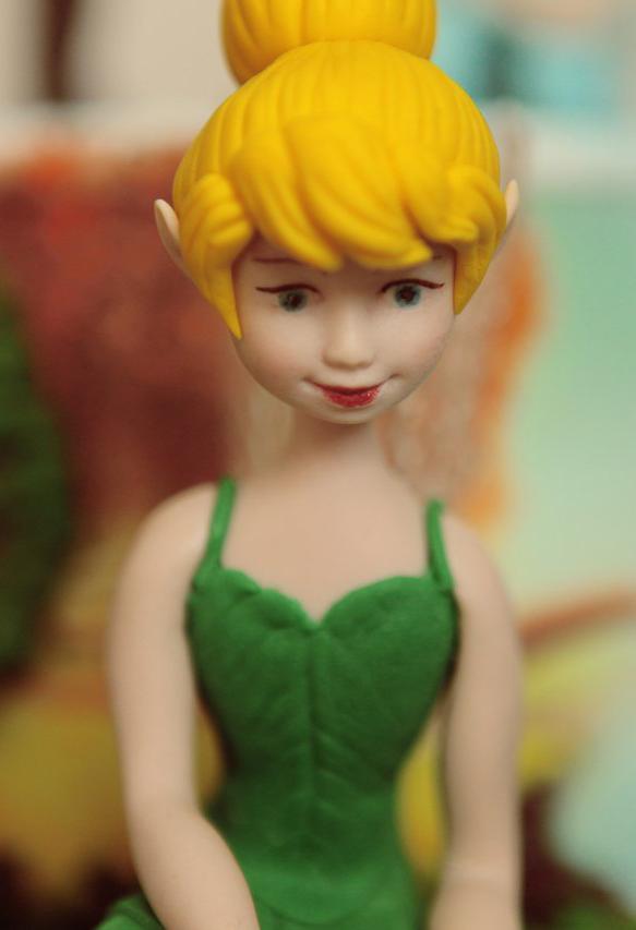 Фея Динь Динь - съедобная фигурка на торт