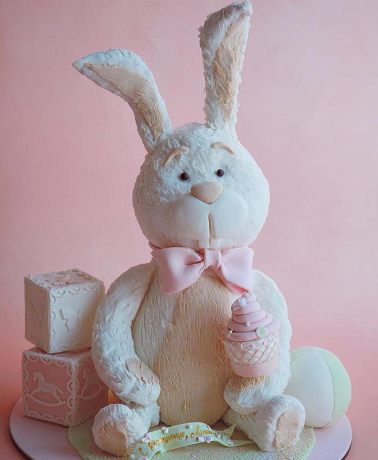 Торт заяц