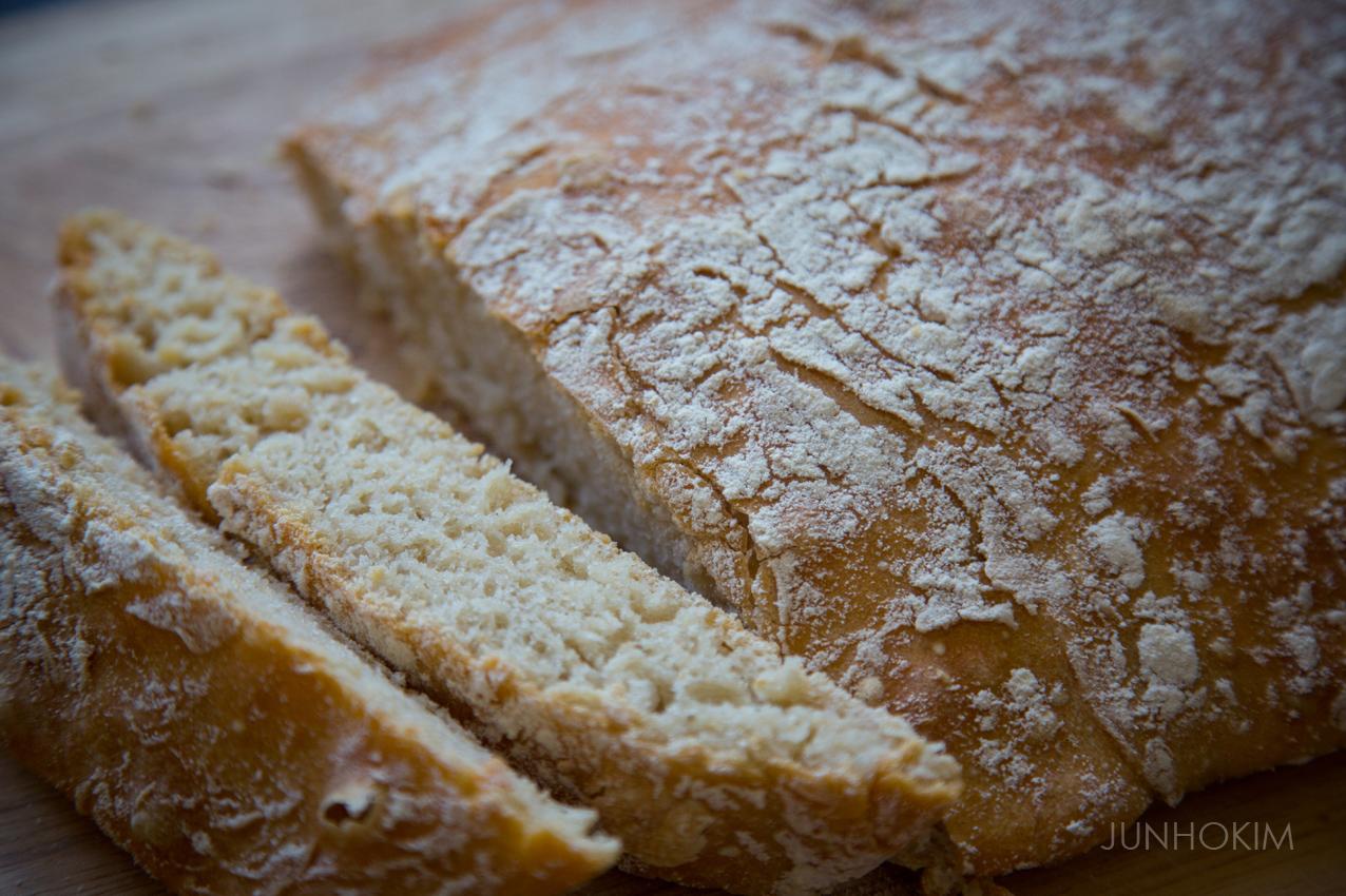 My first homemade Cibata bread