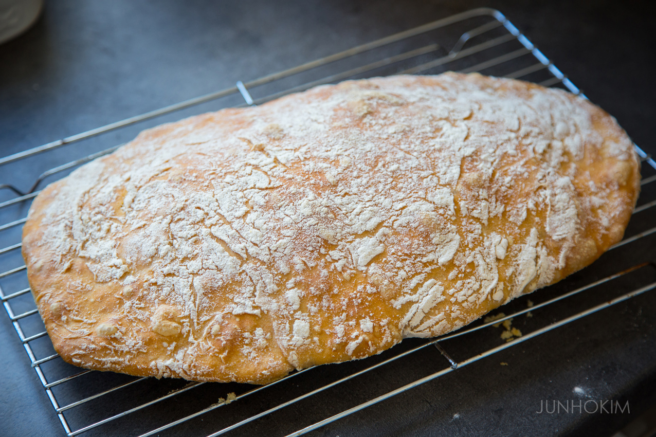 215'C preheated oven and bake for 35 minutes.