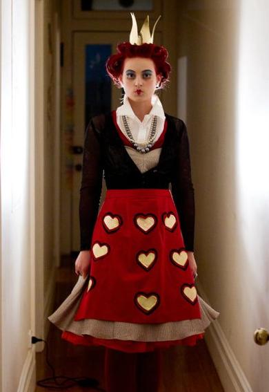 Queen of Hearts Makeup Fancy Dress