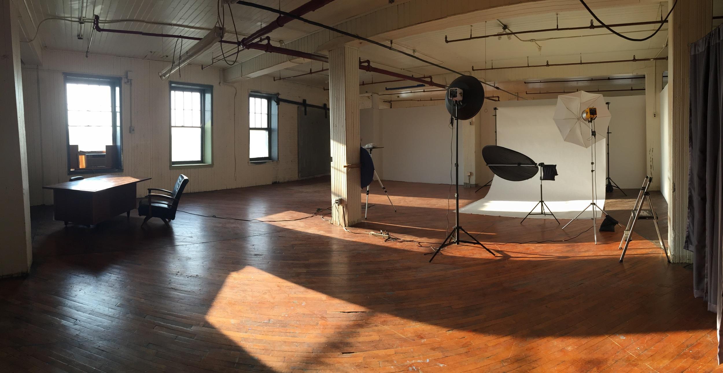 Inside Donald Phelps Photography Studio Morning Light