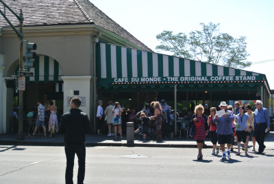 Cafe Du Monde, French Quarter, NOLA