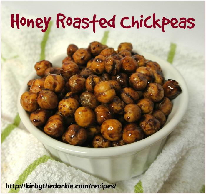 Honey Roasted Chickpeas