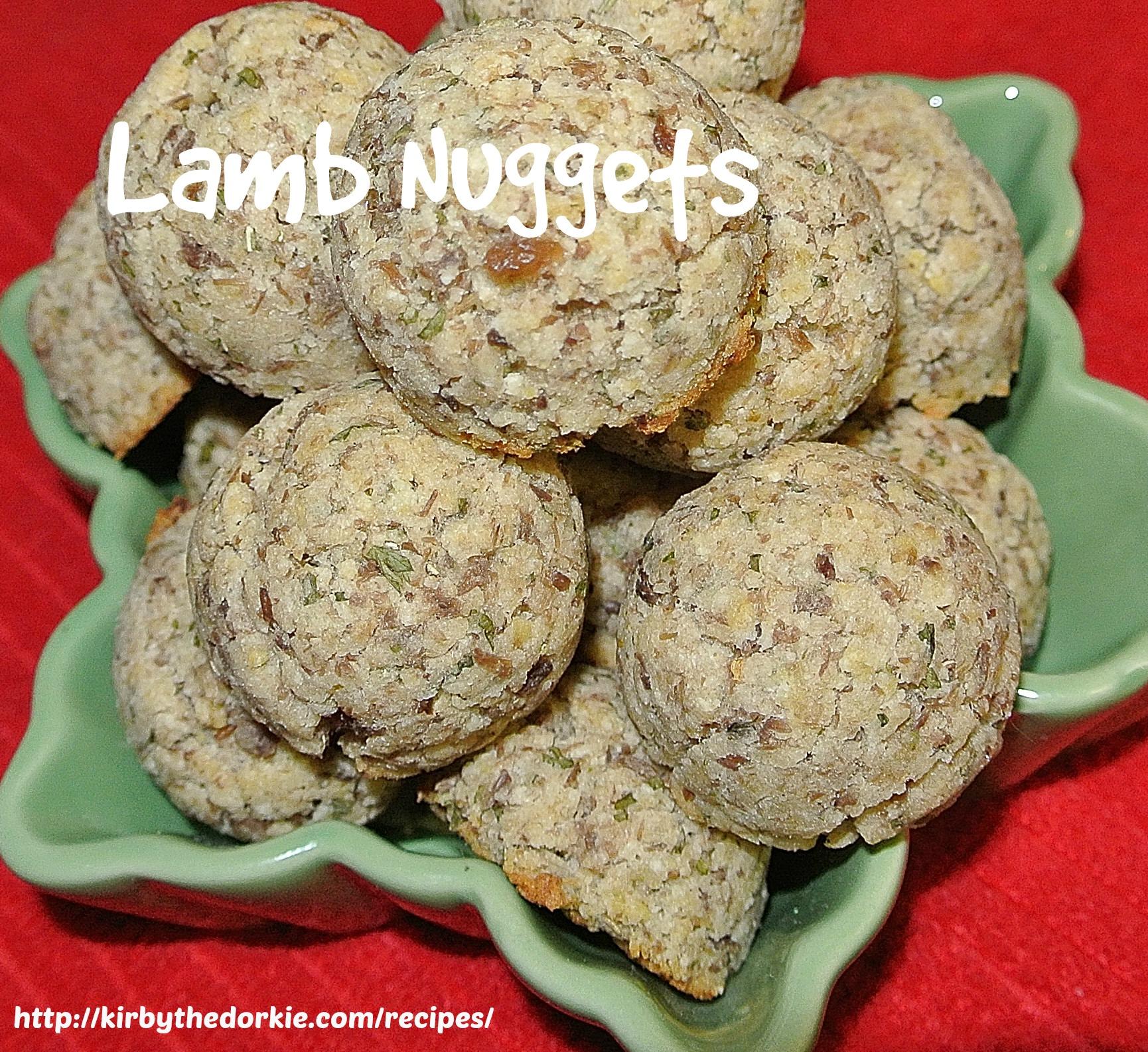 Lamb Nuggets Treats