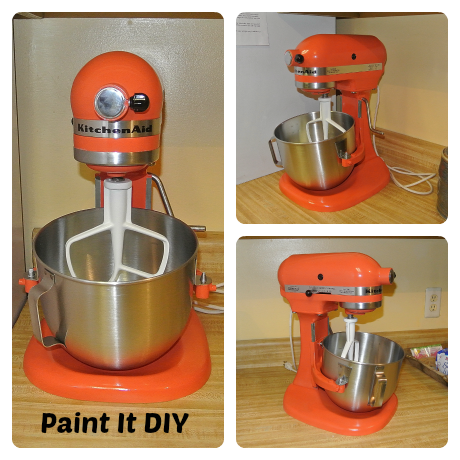 Paint Your Kitchenaid Mixer