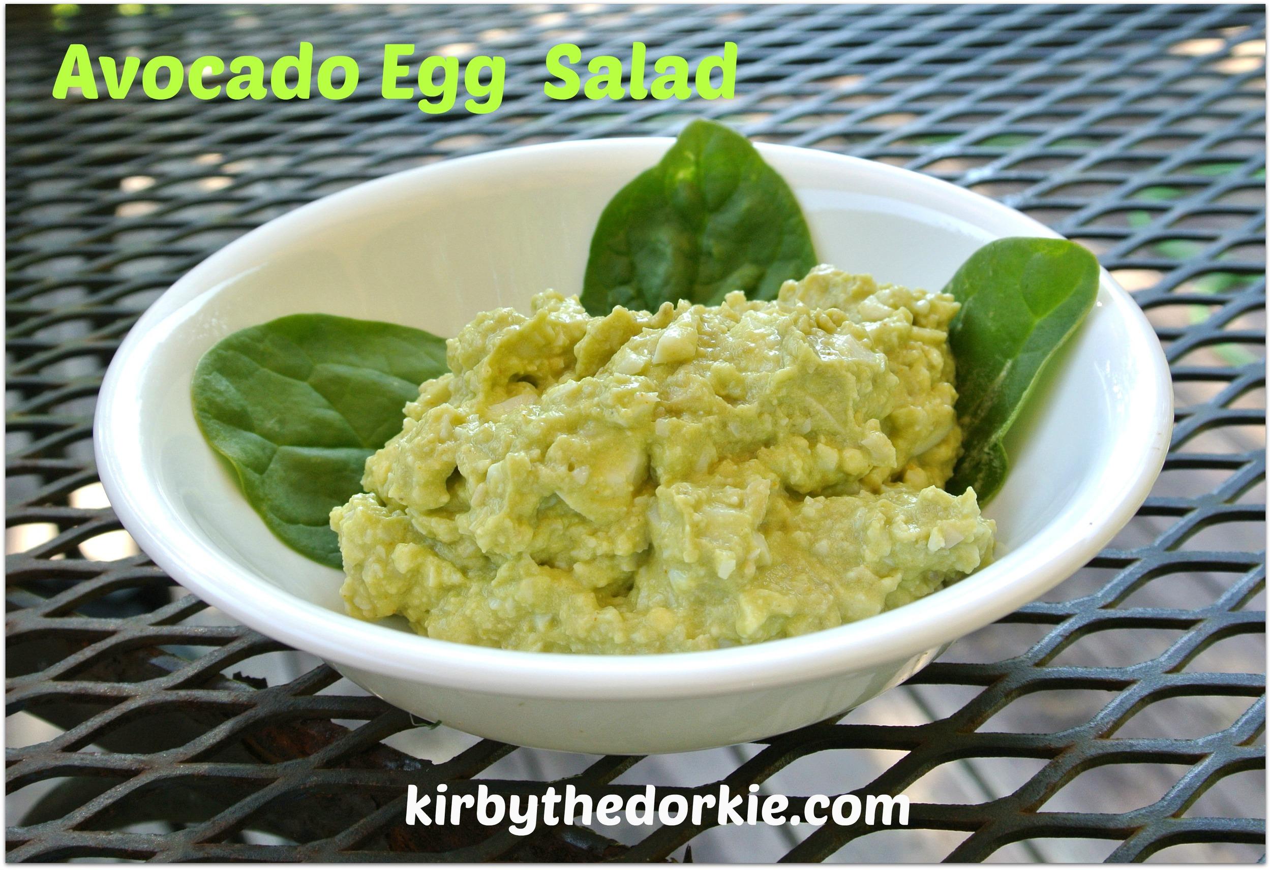 *Avocado Egg Salad