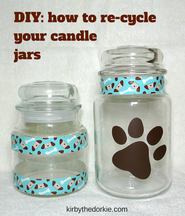 Recycle candle jars