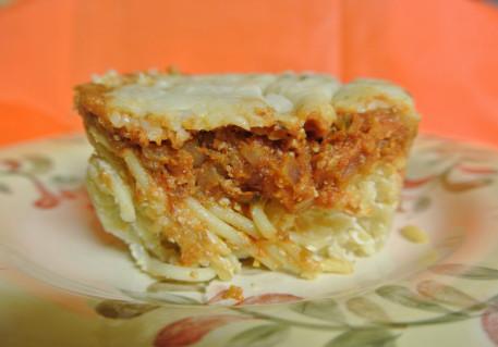 Baked 3 cheese spaghetti