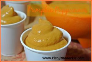 Pumpkin Puppucinos