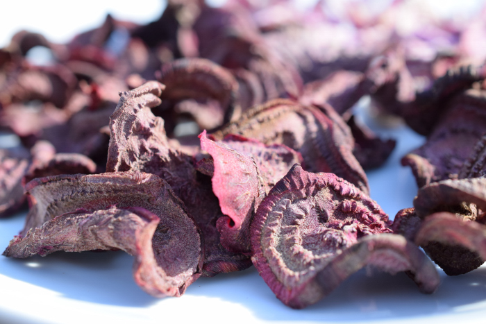 Red Beetroots chips