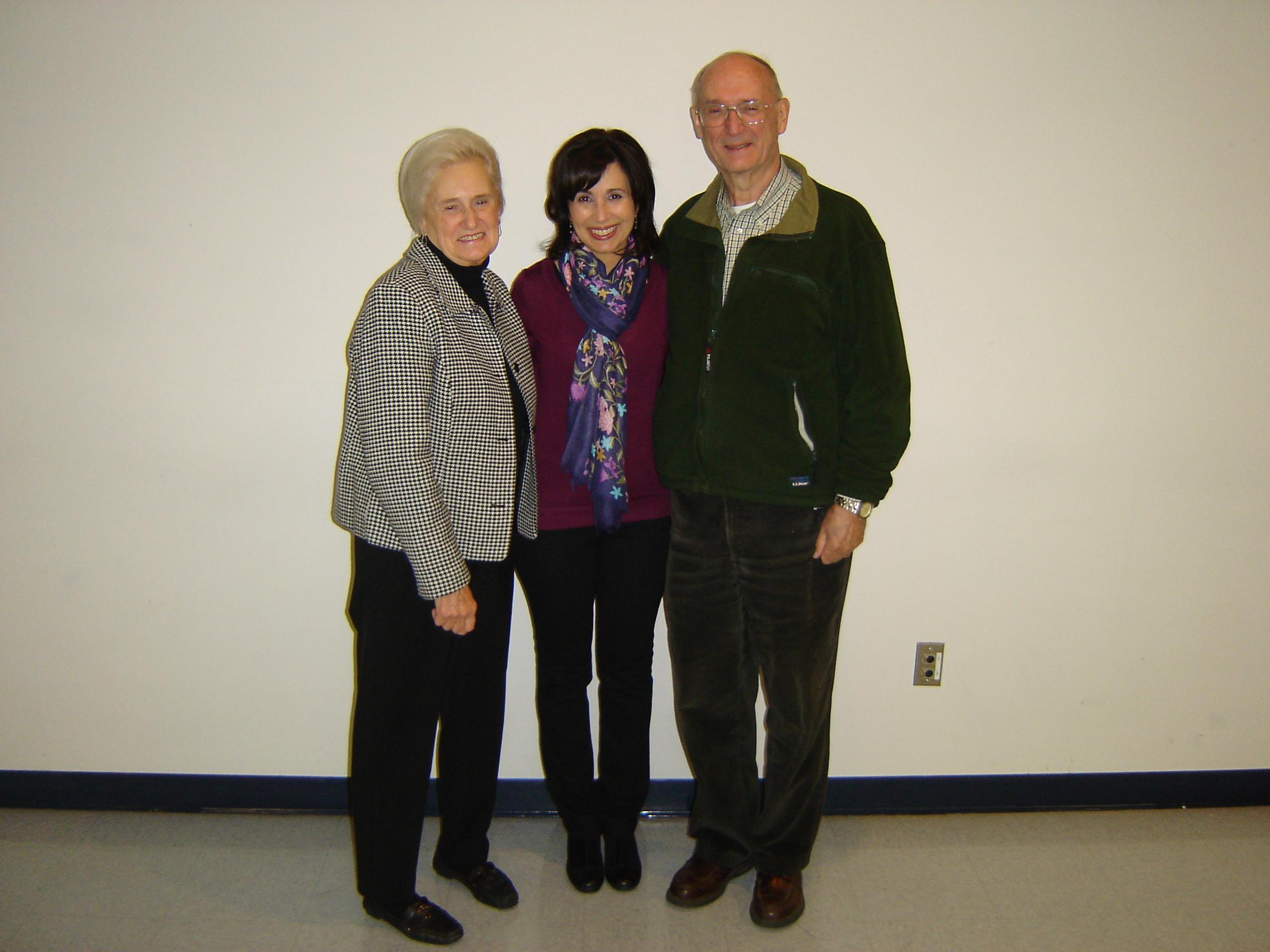 Ruth, John and me.JPG