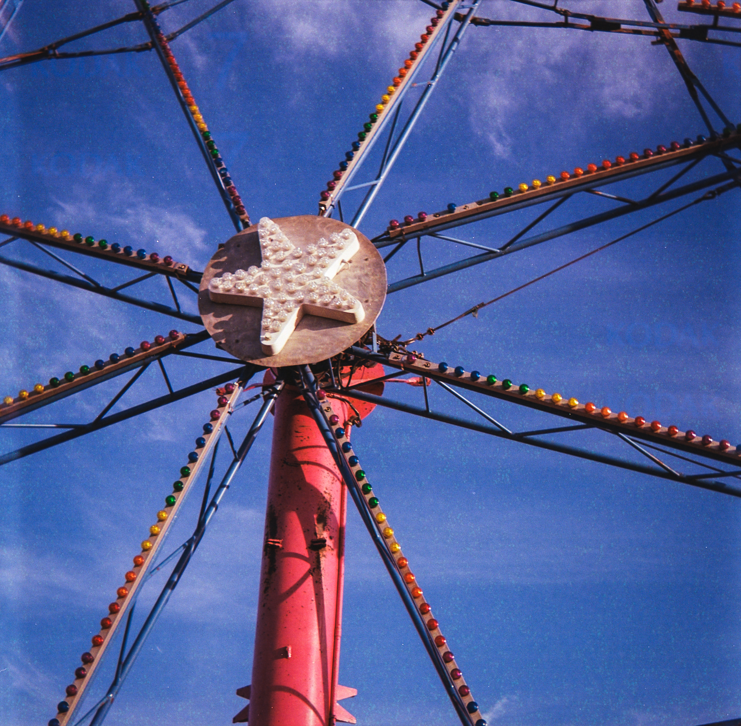 The Bright Colors of the Fair with Kodak Portra 400