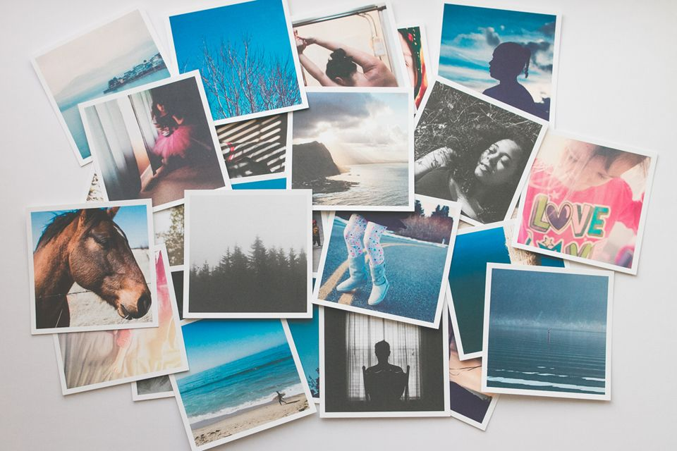 Photo prints - the old but new way to do business.