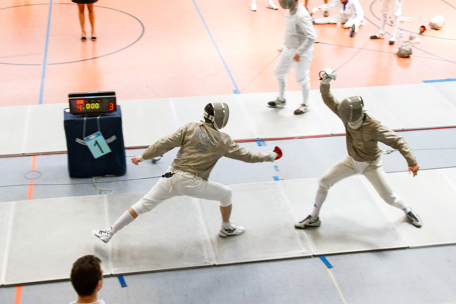 NLSC Head Coach represents Great Britain in Prato, Italy @ 2014 Fencing Masters World Championships