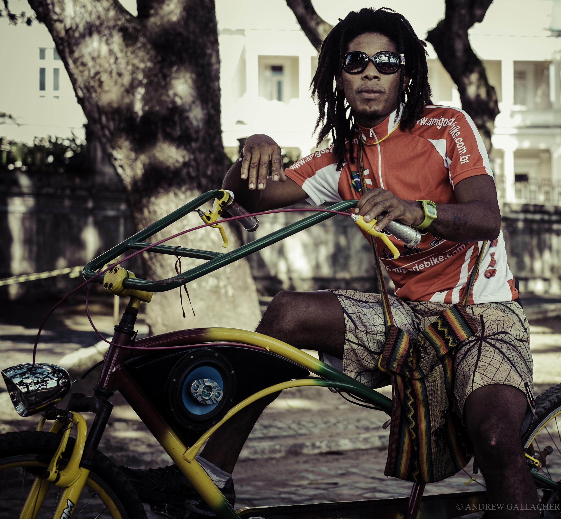Brazilian biker