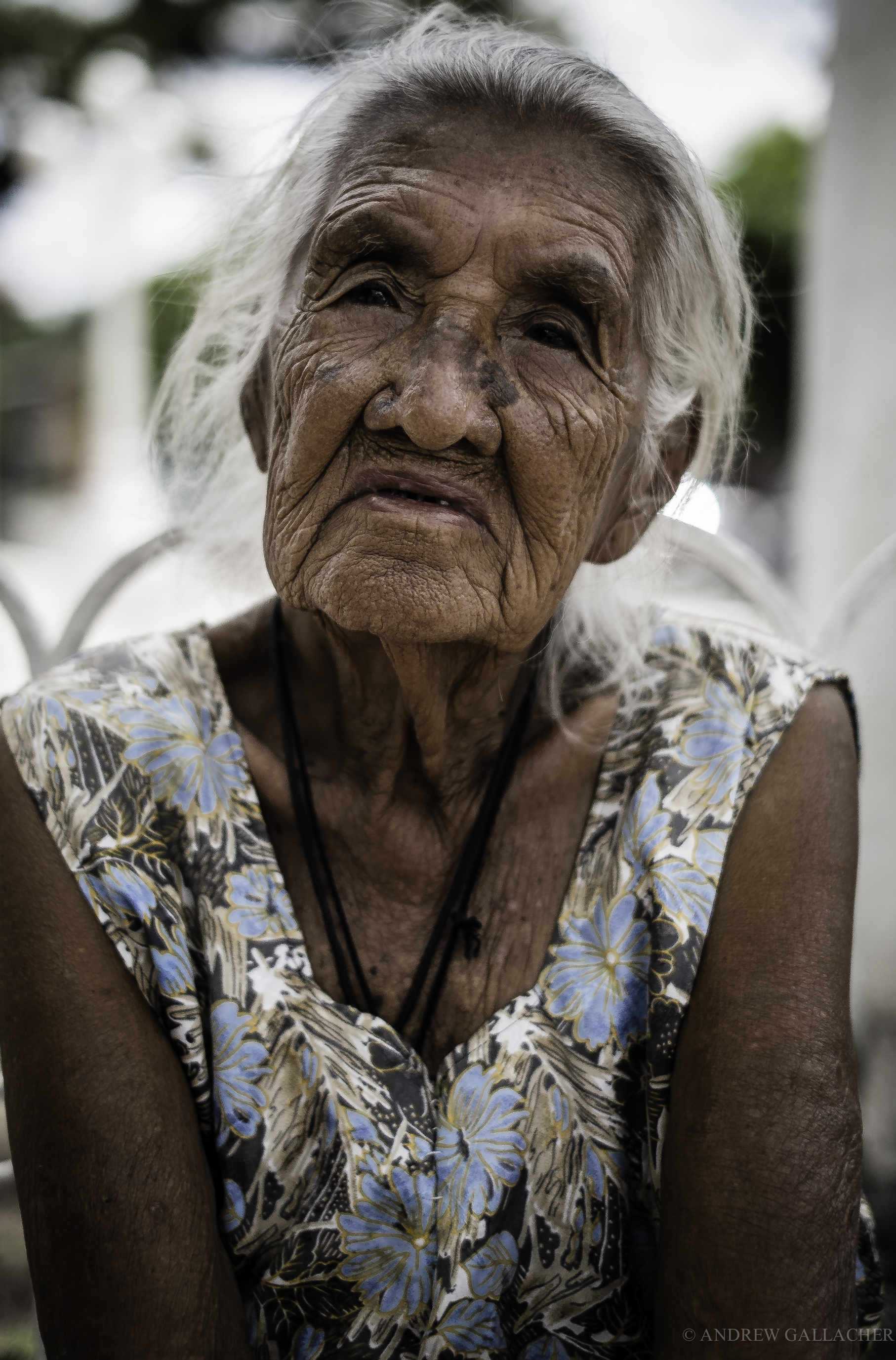 Old lady, El Salvador