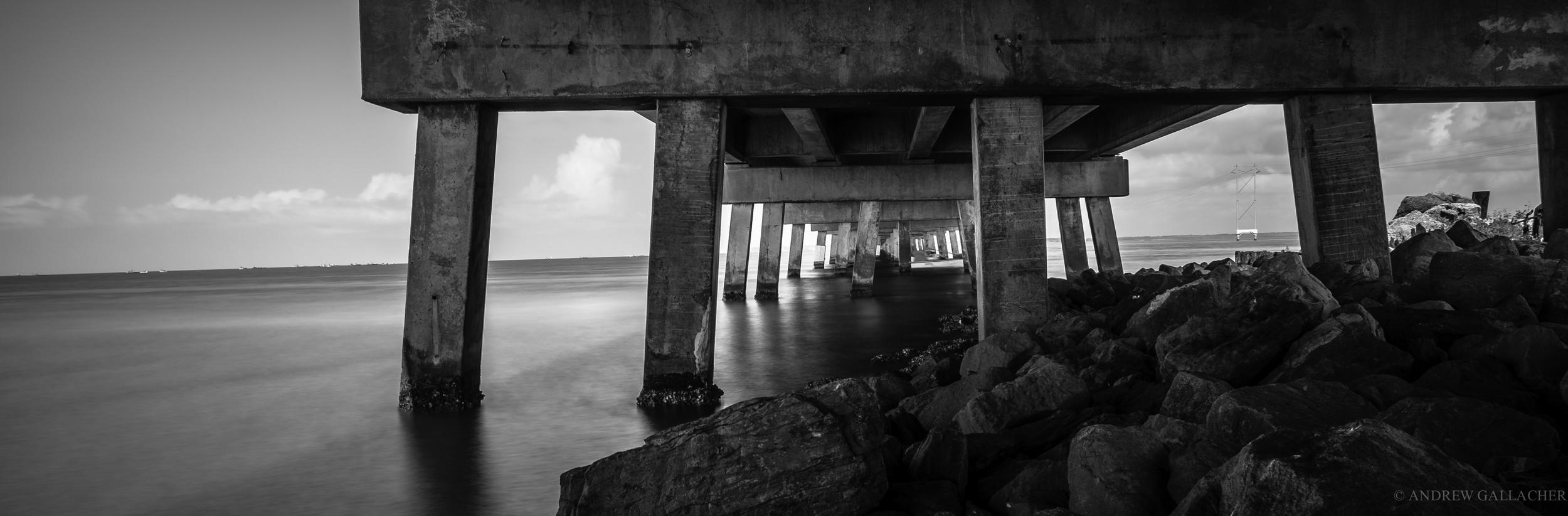 Under the bridge, Florida