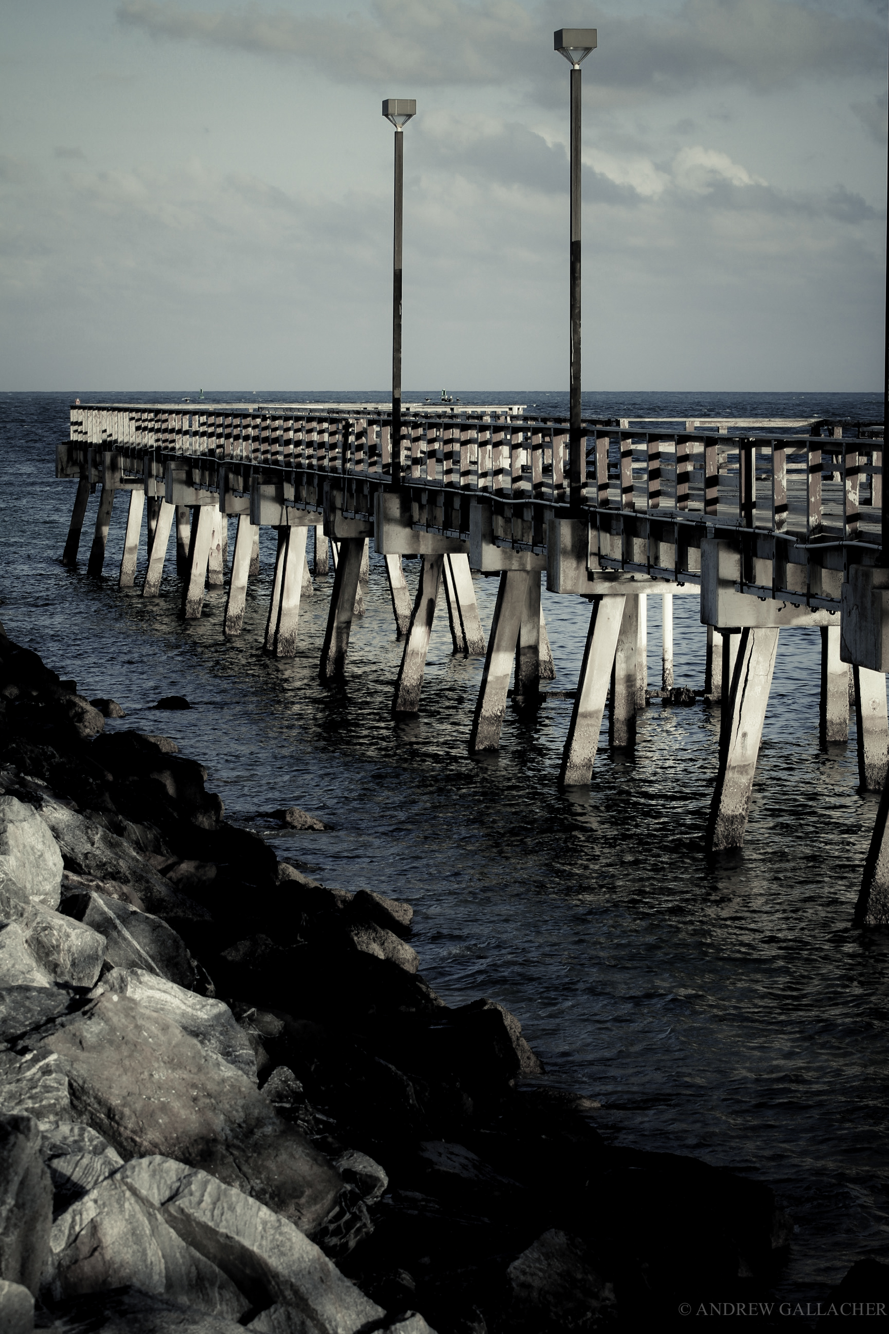 SOBE pier