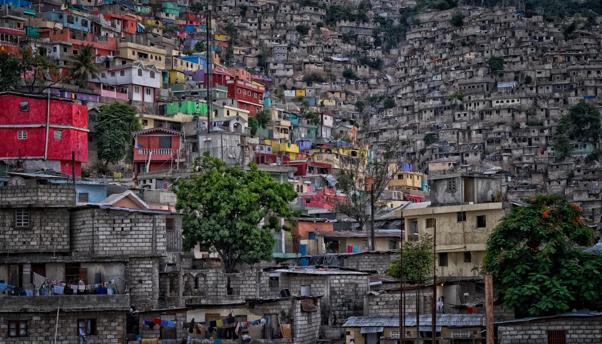 Port-Au-Prince slum. 55mm at f/10 on the X-T1