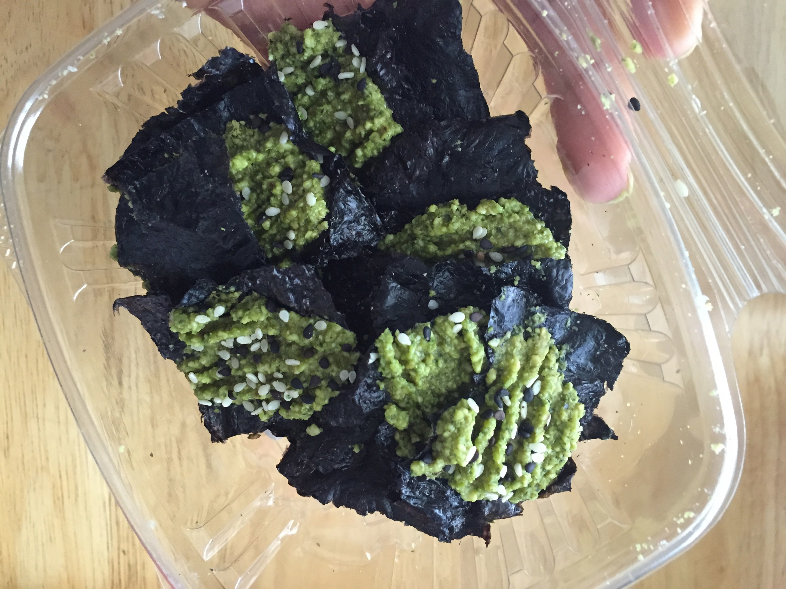 Cashew Nori Chips from The Green Fork