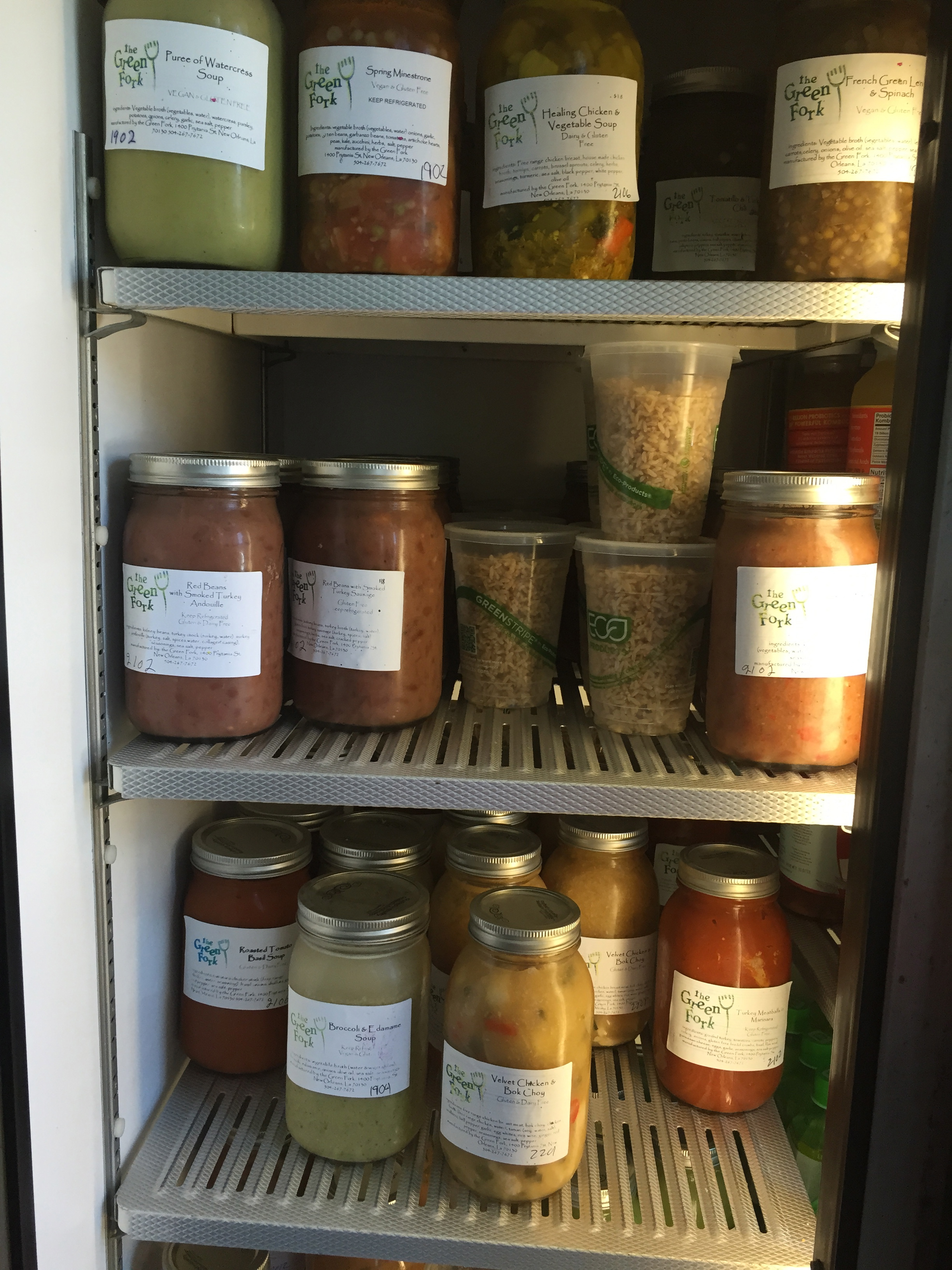 Soups from The Green Fork