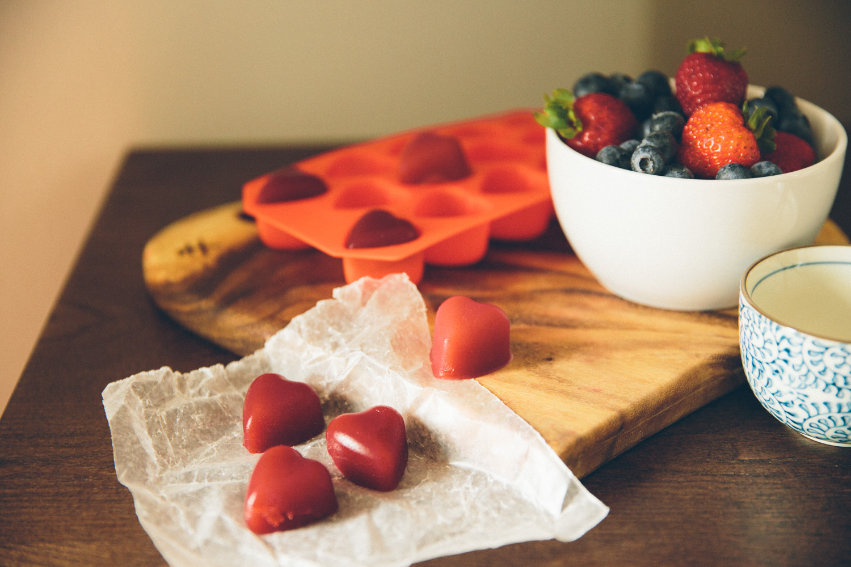 Raspberry Mango Gelatin Gummies.Photograph by: Stephanie Crocker