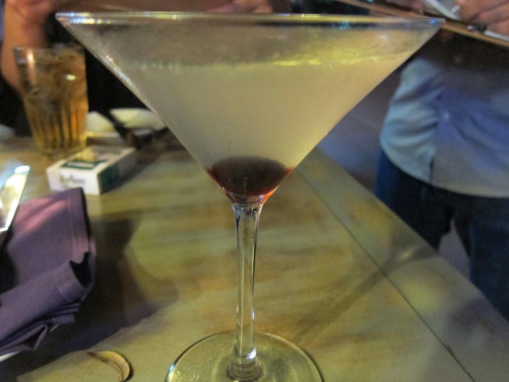 Asian Pear Martini – Grey Goose La Poire, Byejoe Lichee, Lemon Sour