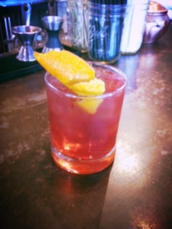 Spiced Cranberry Old Fashioned